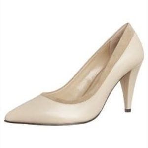French Connection Faith Pump in Nude